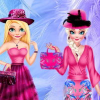 DRESSUP BFF FEATHER FESTIVAL FASHION