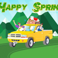 Happy Spring Jigsaw Puzzle