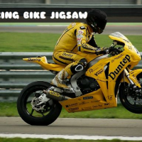 RACING BIKE JIGSAW