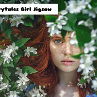 Fairytales Girl Jigsaw